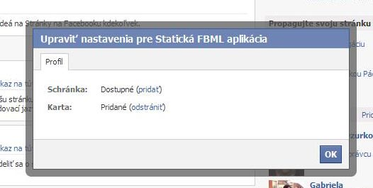 Facebook-nastavFBML