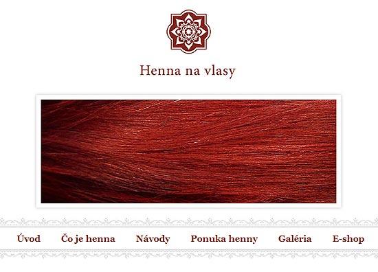 Henna na vlasy